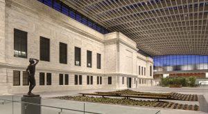 Cleveland Museum of Art Night Panzica Construction