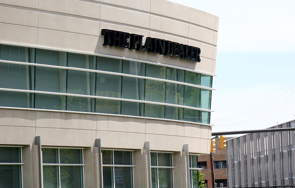 Corporate Offices - Plain Dealer Signage - Panzica Construction