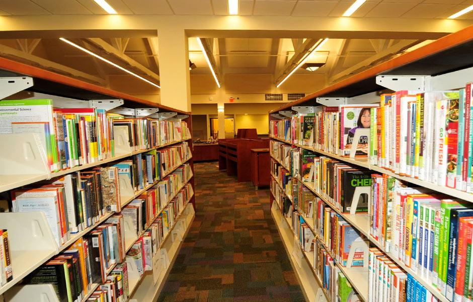 Cultural - South Euclid Public Library Interior- Panzica Construction