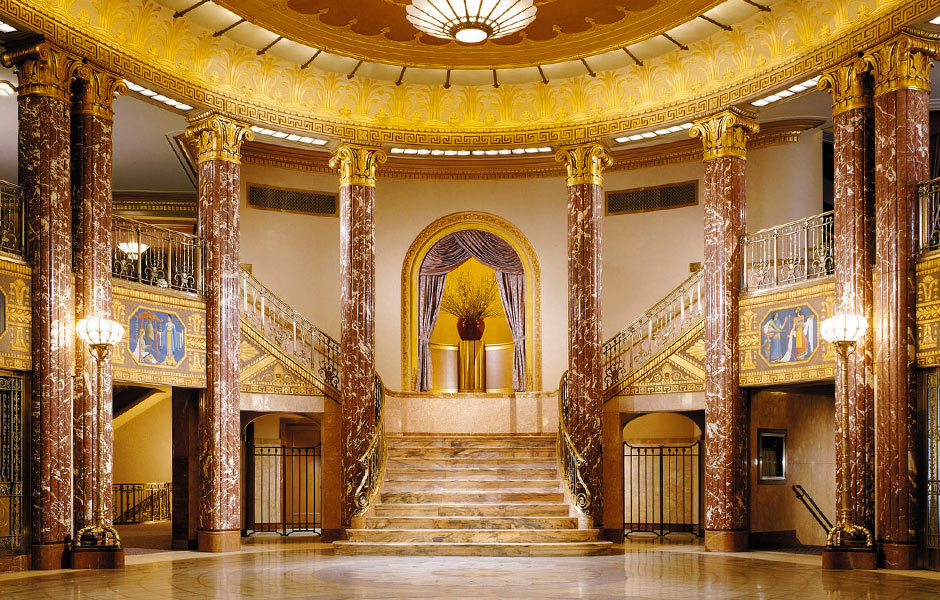 Cultural - Cleveland Severance Hall Foyer - Panzica Construction