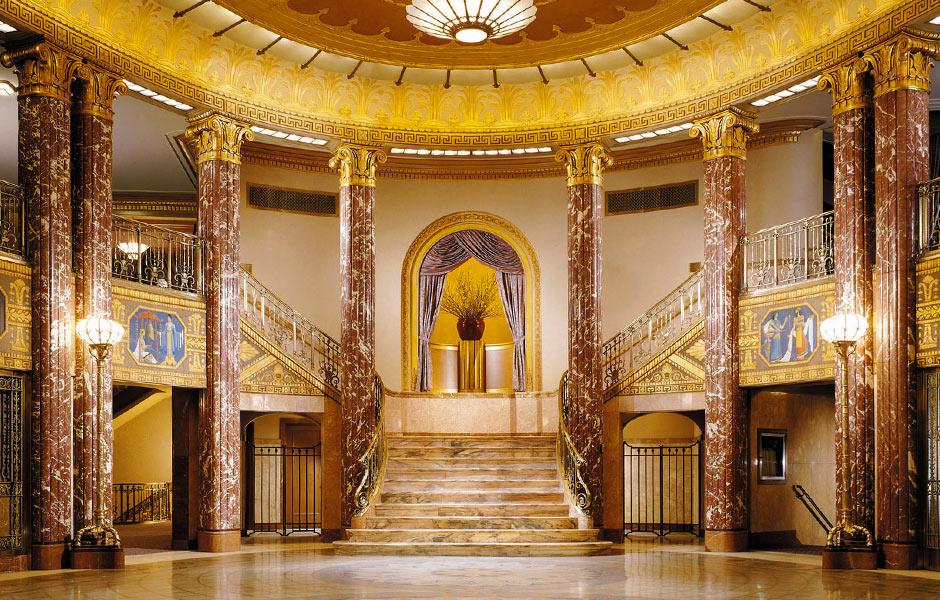Cultural - Cleveland Severance Hall Foyer - Panzica Construction