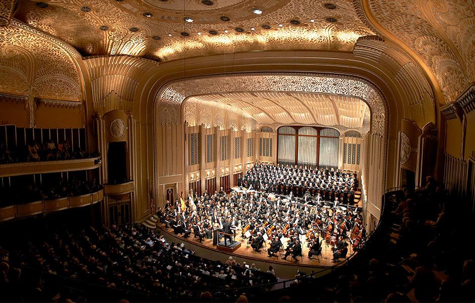 Cultural - Cleveland Severance Hall Orchestra - Panzica Construction