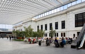 Cultural - Cleveland Museum Art Atrium - Panzica Construction