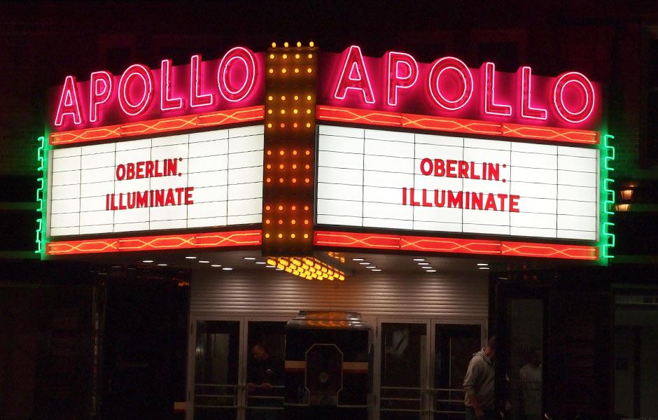 Historic Oberlin Ohio Apollo - Panzica Construction