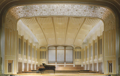 Historic Severance Hall - Panzica Construction