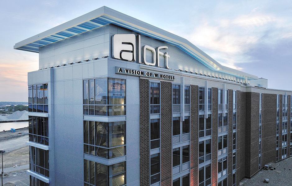 Hotels - Aloft - Panzica Construction