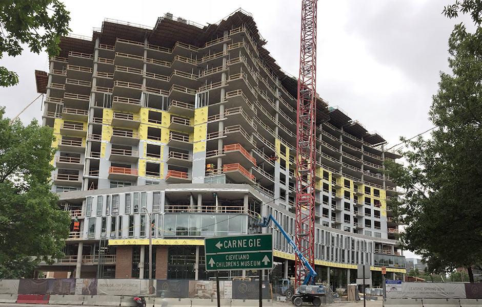 Hotels - One University Circle - Panzica Construction