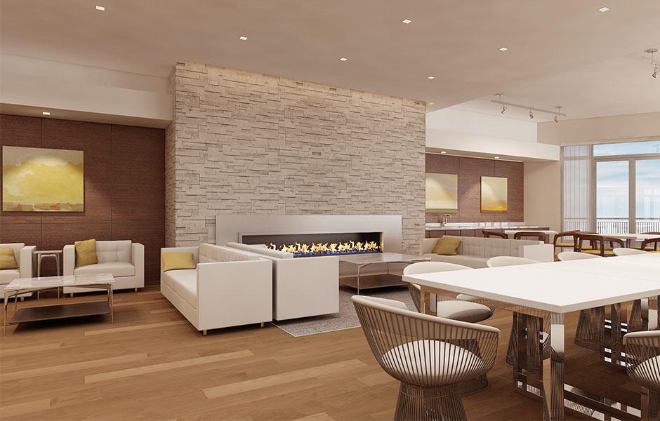 Hotels - One University Circle Lounge- Panzica Construction
