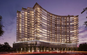 Hotels - One University Circle Night - Panzica Construction