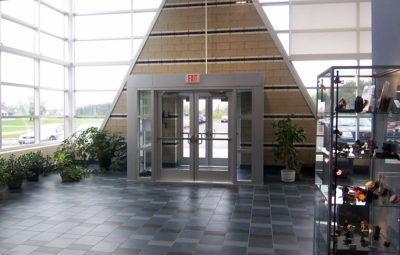 Industrial Manufacturing - Delta Systems Lobby - Panzica Construction