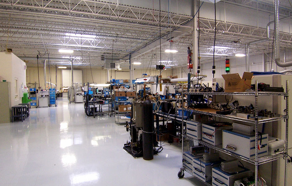 Industrial Manufacturing - Delta Systems Floor- Panzica Construction