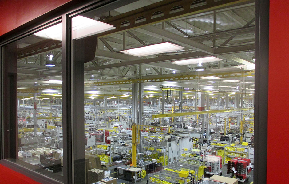 Industrial Manufacturing Lincoln Electric Floor- Panzica Construction