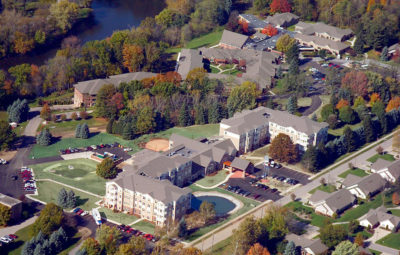 Senior Living - Holy Cross Village at Notre Dame- Panzica Construction