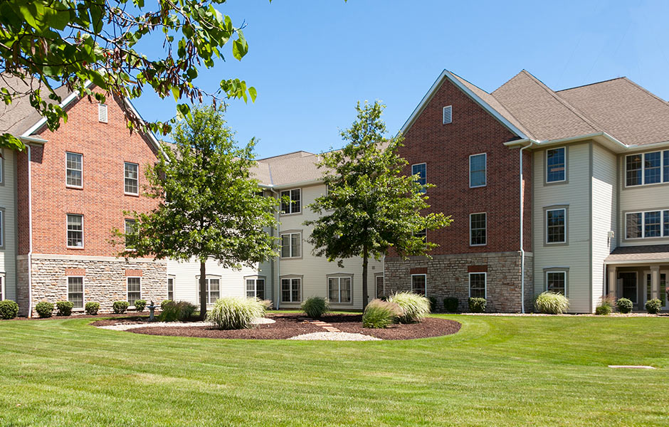 Senior Living - Mount Alverna Village Grounds - Panzica Construction