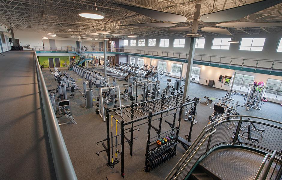 Sports-Recreation Beacon Interior Workout Room Panzica Construction