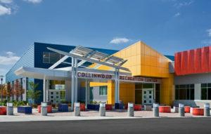 Sports-Recreation - Collinwood Rec Exterior - Panzica Construction