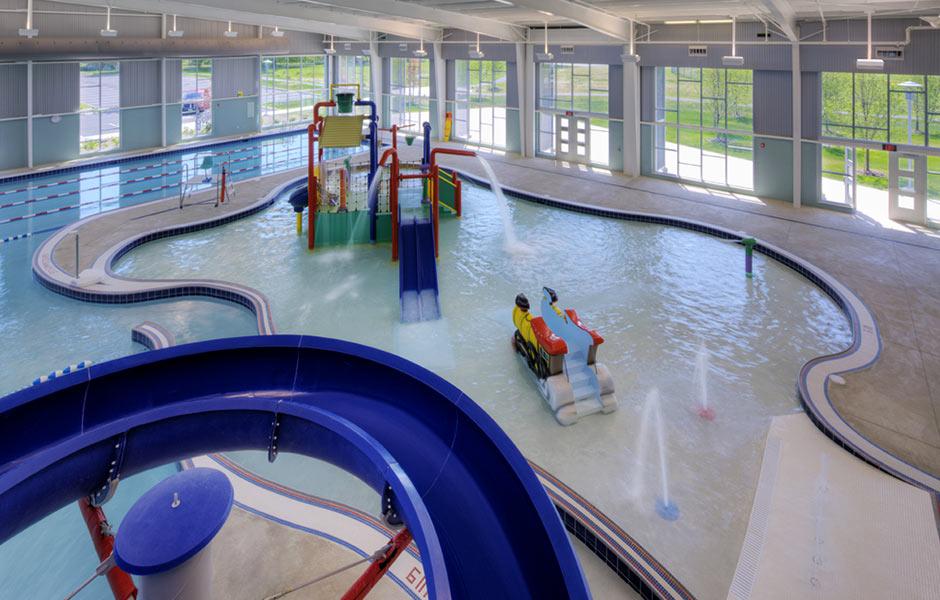 Sports-Recreation - Collinwood Rec Pool - Panzica Construction