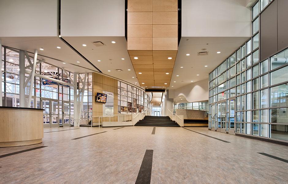Sports-Recreation - Gilmour Hallway - Panzica Construction