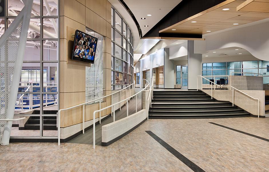 Sports-Recreation - Gilmour Lobby - Panzica Construction