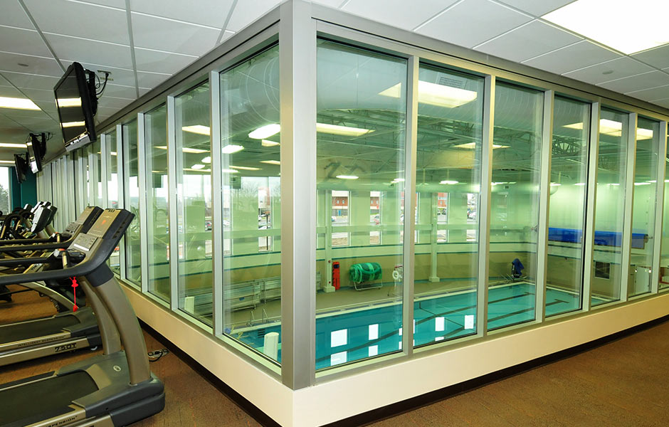 Sports-Recreation - Tri-C Fitness Pool - Panzica Construction